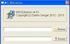 msi文件提取(MSI Extractor) v4.01 绿色版