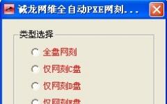 奇东锐腾PXE全自动网克工具 V1.0 绿色版