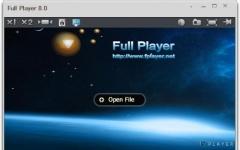 Full Player_影音播放器 v8.2.1 綠色版