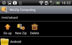 WinZip解压缩手机版 v3.1 安卓版