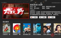 搜狐视频TV版 v5.4.0 安卓版