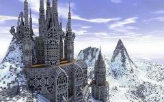 我的世界冬日小城地图存档