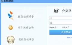 叮咚微信检测助手 v2.1 免费版