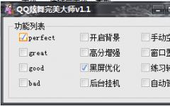 QQ炫舞完美大师 v1.1 免费版