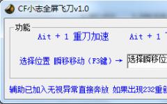 CF小志全?#32451;?#20992;辅助 v1.1 免费版
