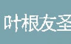 葉根友聖雅碑字體