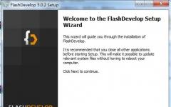FlashDevelop(免費代碼編輯工具) V5.0.2.2 官方版