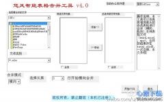 悠风智能表格合并软件 v4.0 官方版