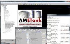 TechnoSoft AMETank_储罐配置设计建造安装软件 v7.7 官方版