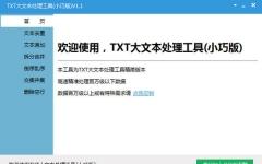 TXT大文本处理工具(小巧版) V1.4.1免费版