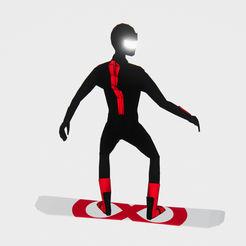 �o休止滑雪板