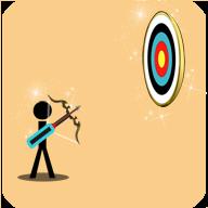 火柴人弓箭手射靶