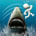 鲨鱼逃亡跳一跳 V1.1.1 安卓版