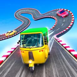 黄包车坡道特技竞速3D V1.0.0 苹果版