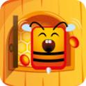 蜜蜂甜蜜花園H5