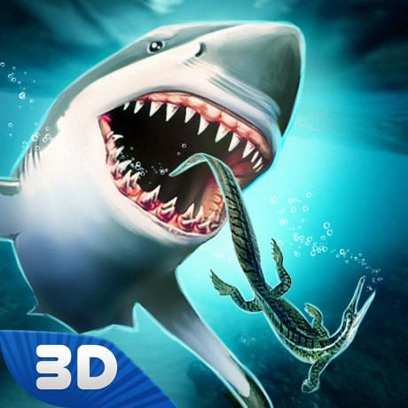 巨齿鲨模拟器3D V1.0 苹果版
