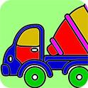大型卡車填顏色H5
