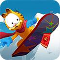 加菲猫滑雪H5