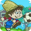 农场男孩踢足球H5