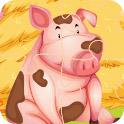 农场动物拼拼看H5