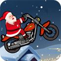 圣诞老公公骑摩托H5