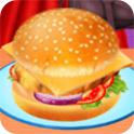 自制蔬菜汉堡H5