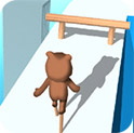 小熊踩竹竿H5
