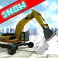 真正的挖掘机扫雪模拟器起重机 v1.1.0