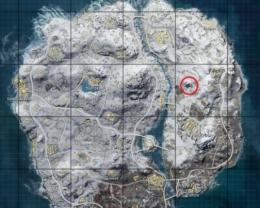 刺激战场雪地地图有空投的洞在哪里?