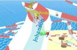 aquaparkio水上公園大亂斗游戲玩法介紹