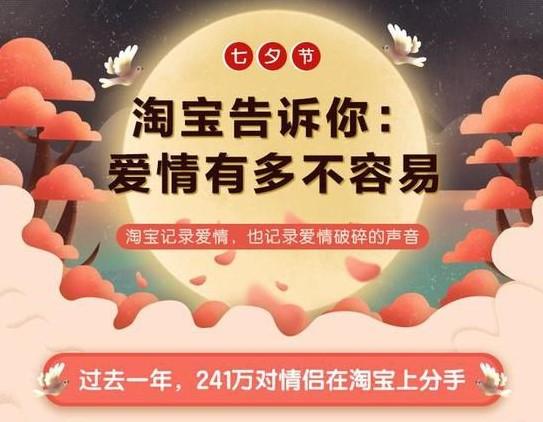 淘宝2019七夕报告在哪里看?