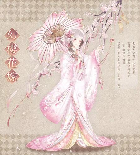 暖暖环游世界幻樱花嫁套装怎么获得?