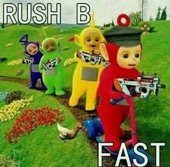 """Rush B""是什么梗?什么意思?"