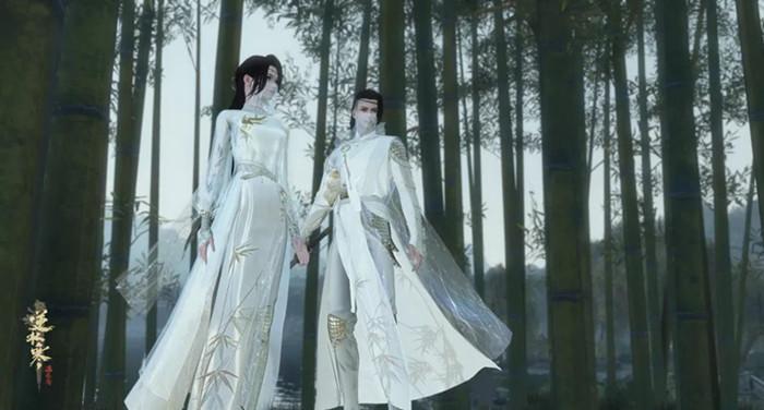 《逆水寒》全服争霸赛赛事服装外观效果预览
