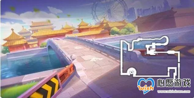 《跑跑卡丁车手游》在运河旁的城墙下搜寻宝藏任务攻略_wishdown.com