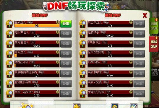 DNF探索硬币获得攻略