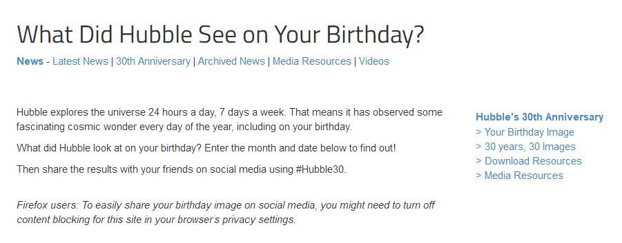 你生日那天的宇宙查询入口地址