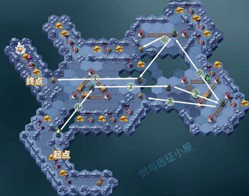 《剑与远征》荒鸦边界路线图文攻略