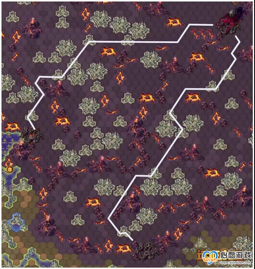 剑与远征团队远征章鱼BOSS路线图介绍