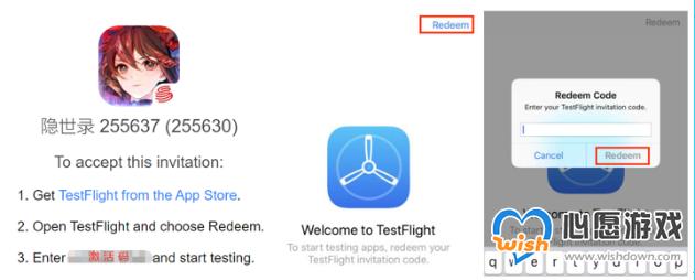 隐世录IOS代码超越测试怎么下载_wishdown.com