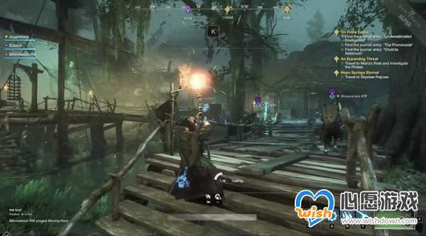 MMO《新世界》PvE、钓鱼实机演示 抵抗不死军团侵袭