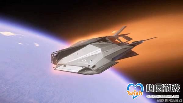 """《星际公民》最新演示 轻型货运舰""""联合外域游牧者""""_wishdown.com"""