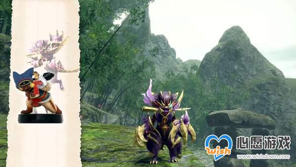 """《怪猎:崛起》Amiibo奖励公布 可获得""""怨虎龙套装""""_wishdown.com"""