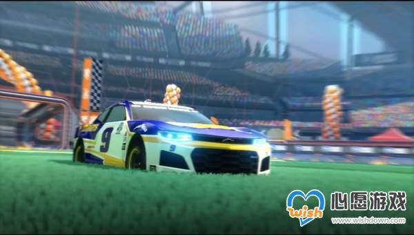《火箭联盟》纳斯卡赛车DLC即将上线 含野马等3款赛车_wishdown.com