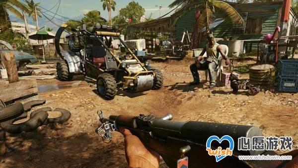 《孤岛惊魂6》装备介绍 49种武器,全程允许玩家锻造