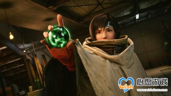 PS5《FF7重制版》港服解锁 制作人手绘尤菲画像纪念_wishdown.com