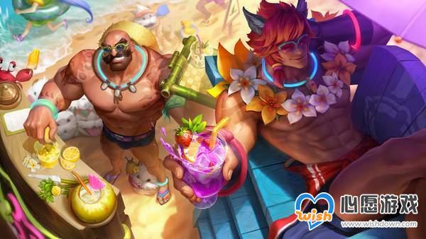 《LOL》11.12版更新 蒙多重做归来,新泳池派对皮肤_wishdown.com