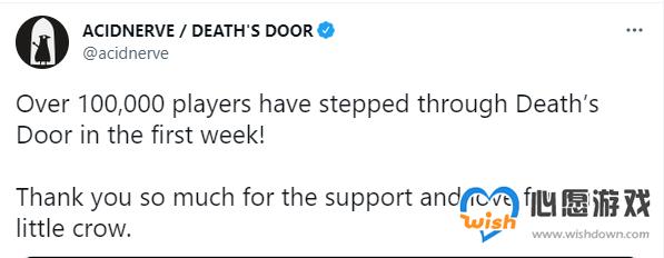 《死亡之门》发售一周玩家数超10万 Steam特别好评