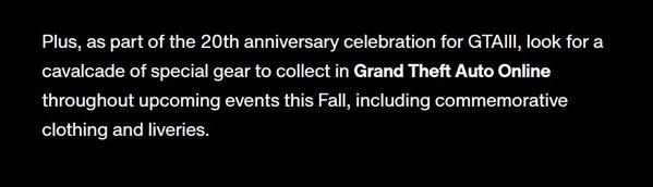 庆GTA3发售20周年 《GTAOL》将更新相关活动内容_wishdown.com