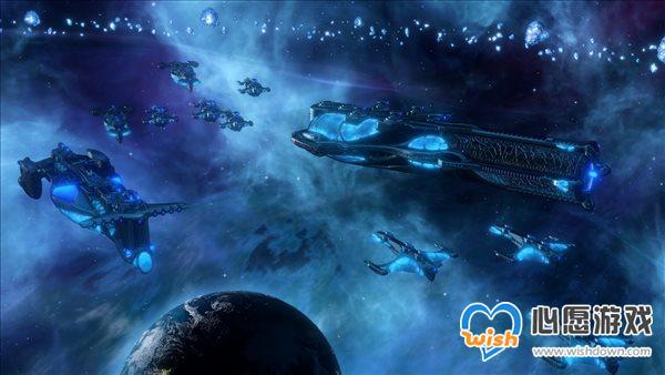 """《群星》发布""""水生种族""""DLC预告 新物种新船舰套装"""